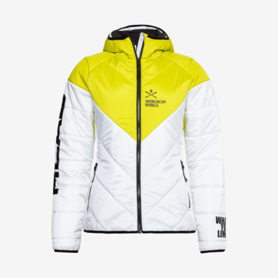 Product overview - RACE STAR LIGHT Jacket Women white/yellow