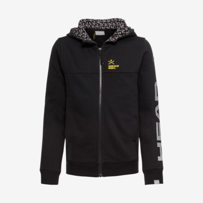 Product overview - RACE Hoodie FZ Junior black
