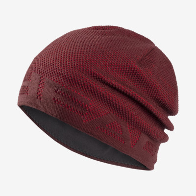 Product overview - AKSEL Beanie burgundy