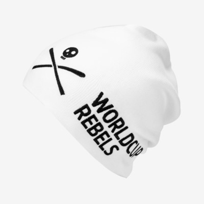 Product overview - Rebels Beanie white