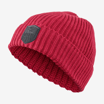 Product overview - REBELS CREST Beanie red