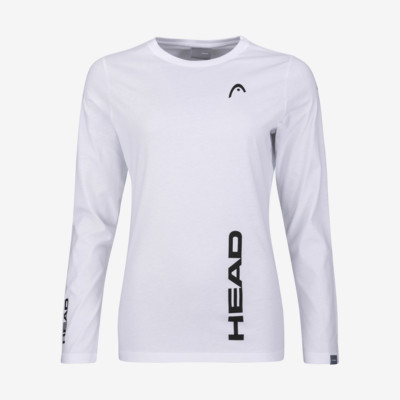 Product overview - PROMO HEAD LS Women white
