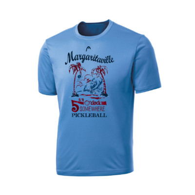 Product overview - It's 5 O'Clock Somewhere Margaritaville T-shirt Mens