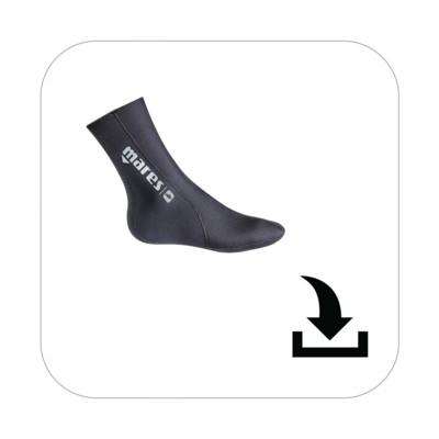 Product overview - Socks Flex 2mm (422658)
