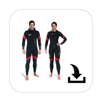 Product overview - Dual 5 - Man / She Dives (412375 / 412376)