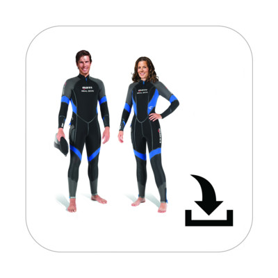 Product overview - Seal Skin Man / She Dives (412369 / 412370)