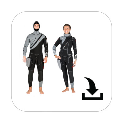 Product overview - Flexa Z-Therm Man / She Dives (412367 / 412368)