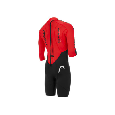 Product hover - SWIMRUN ROUGH  SHORTY (LADY) black/red