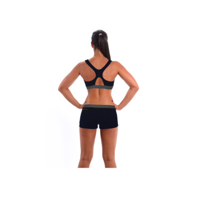 Product hover - COLOURISE SHORTY BIKINI black/grey