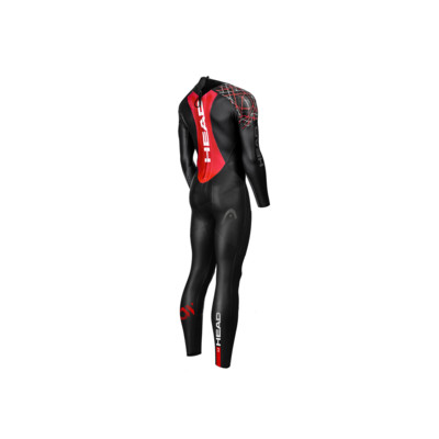 Product hover - HEAD OPENWATER MYBOOST SHELL 3.2 women's Neoprene Glideskin Wetsuit black/red