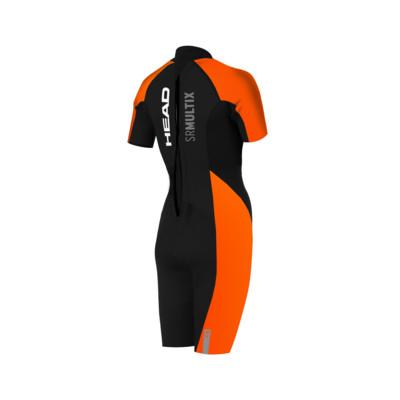 Product hover - SWIMRUN MULTIX SHORTY 2.5 black/orange