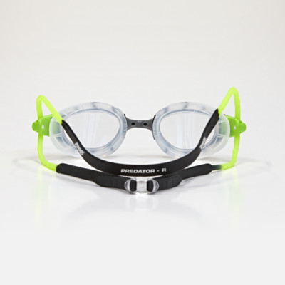 Product hover - Predator Goggles Black/Green - Clear Lens