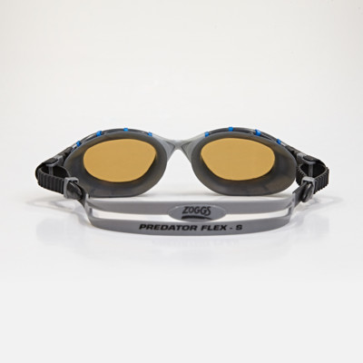 Product hover - Predator Flex Polarised Ultra Reactor Silver/Blue - Reactor Copper Lens