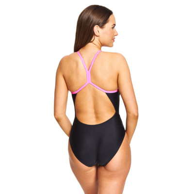 Product hover - Empower Sprintback Swimsuit matte Black