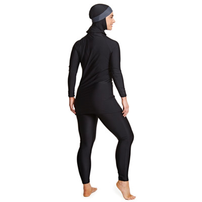 Product hover - Meelup 3 Piece Modesty Suit BKGY