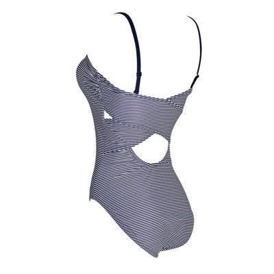 Product hover - Pebbly Bandeau Crossback Swimsuit