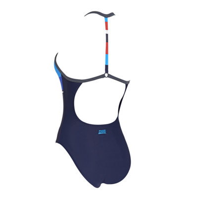 Product hover - Pop Block T Back Swimsuit
