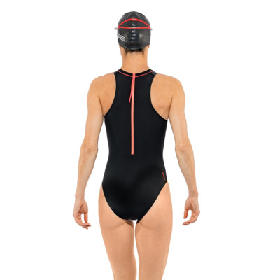 Product hover - Predator Hi Neck Swimsuit