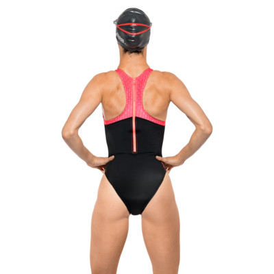 Product hover - Predator Zipped Back Swimsuit