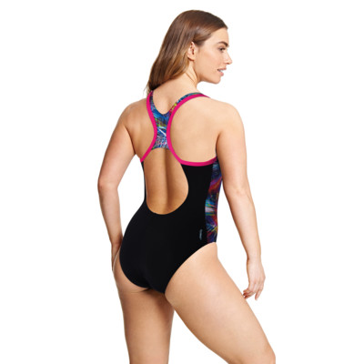 Product hover - Space Neon Atomback One Piece SPAC