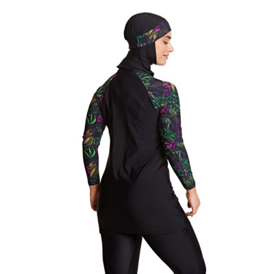 Product hover - Dark Botanical 3 Piece Modesty Suit DABO