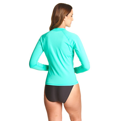 Product hover - Sunshine Long Sleeve Sun Top apple green