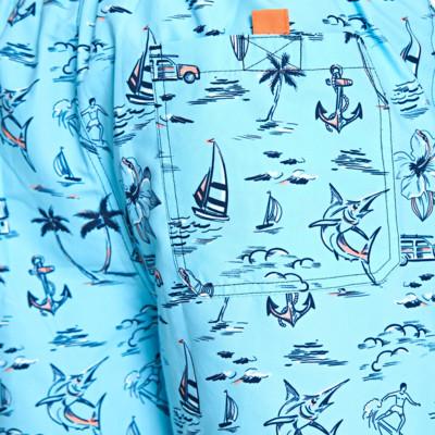 Product hover - Mens Aloha 15'' Shorts