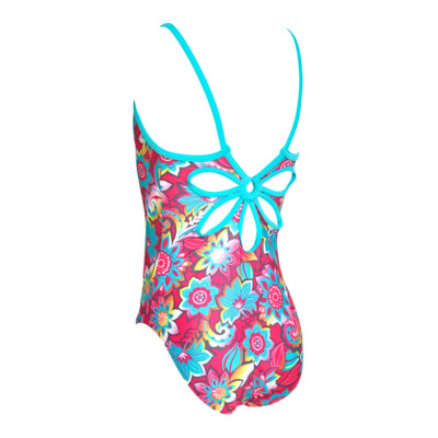 Product hover - Girls Garden Party Yaroomba One Piece PKMT