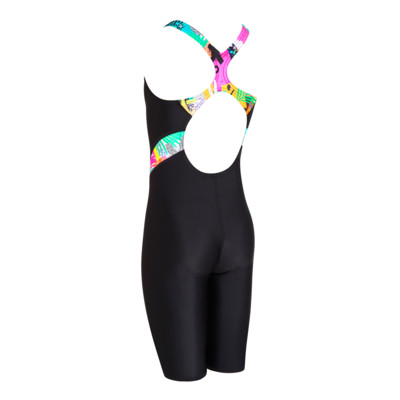 Product hover - Junior Girls Montage Legsuit black/metal