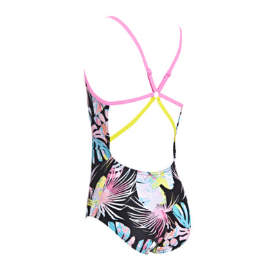 Product hover - Junior Girls Palms Starback Swimsuit black/metal