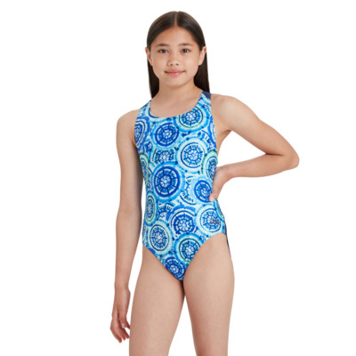 Product hover - Girls Carousel Flyback One Piece CARF