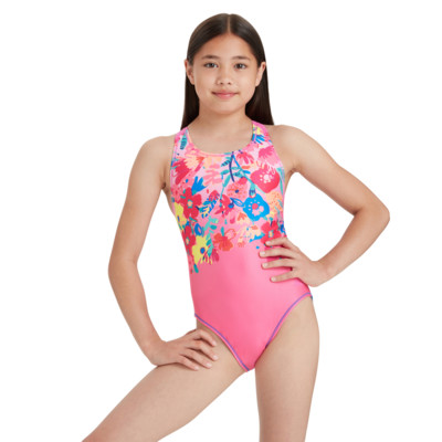 Product hover - Girls Frida Flyback One Piece FRIF
