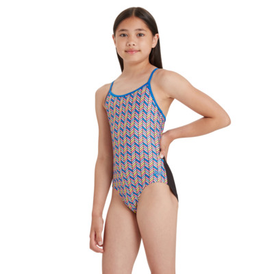 Product hover - Girls Memphis Sprintback One Piece MEMF