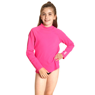 Product hover - Bells Long Sleeve Sun Top pink