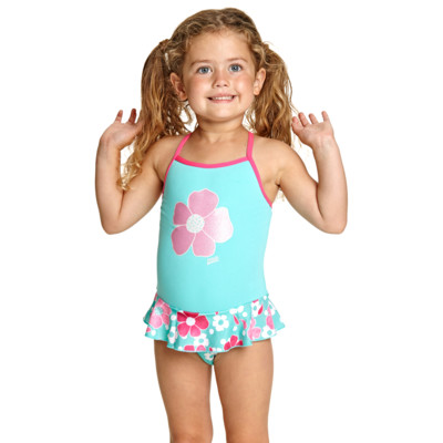Product hover - Petal Magic Crossback Swim Dress