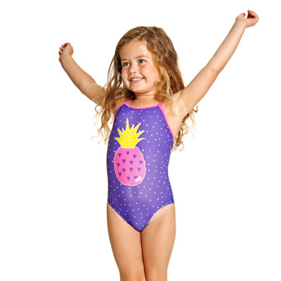 Product hover - Pine Crush Yaroomba Floral One Piece