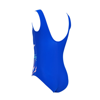 Product hover - Girls Undersea Scoopback Swimsuit