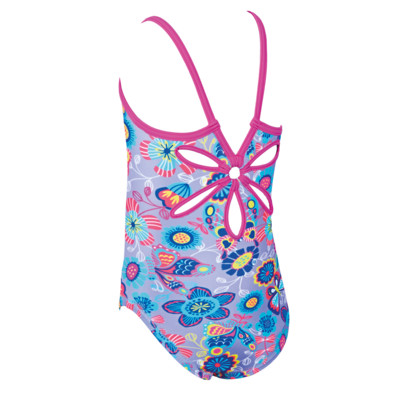 Product hover - Girls Wild Yaroomba Floral Swimsuit