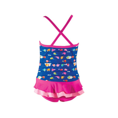 Product hover - Girls Pretty Bird X Back Swimdress