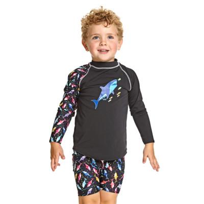 Product hover - Shark Alert Long Sleeve Sun Top