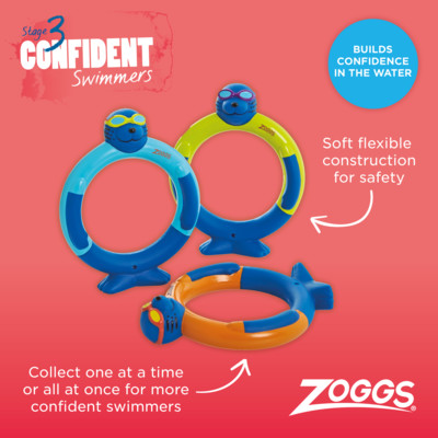 Product hover - Zoggy Dive Rings AST