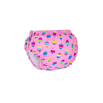 Product hover - Ice Creams Adjustable Swim Nappy pink