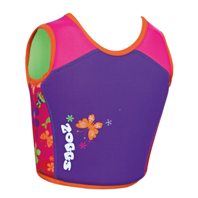 Product hover - Mermaid Flower Swim Jacket Pink