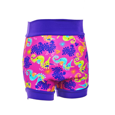 Product hover - Saw Unicorn Swimsure Nappy pink