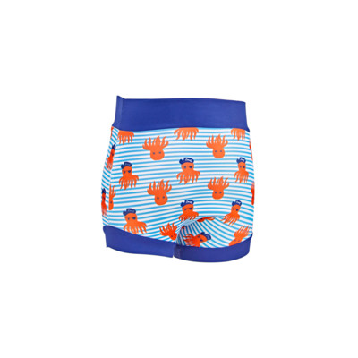 Product hover - OctoPirate SwimSure Nappy blue