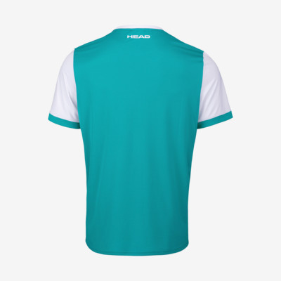 Product hover - DAVIES T-Shirt Men turquoise/white