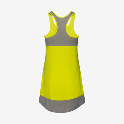 Product hover - DEMI Dress W yellow/grey