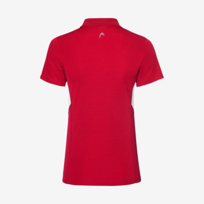 Product hover - CLUB Tech Polo Shirt W red