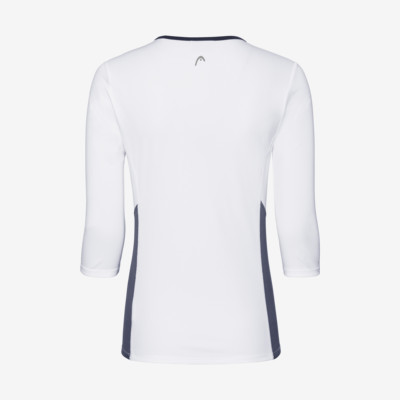 Product hover - CLUB Tech 3/4 Shirt W white/dress blue