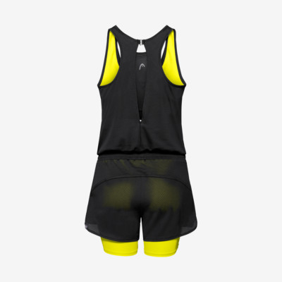 Product hover - MATCH Romper W black/yellow